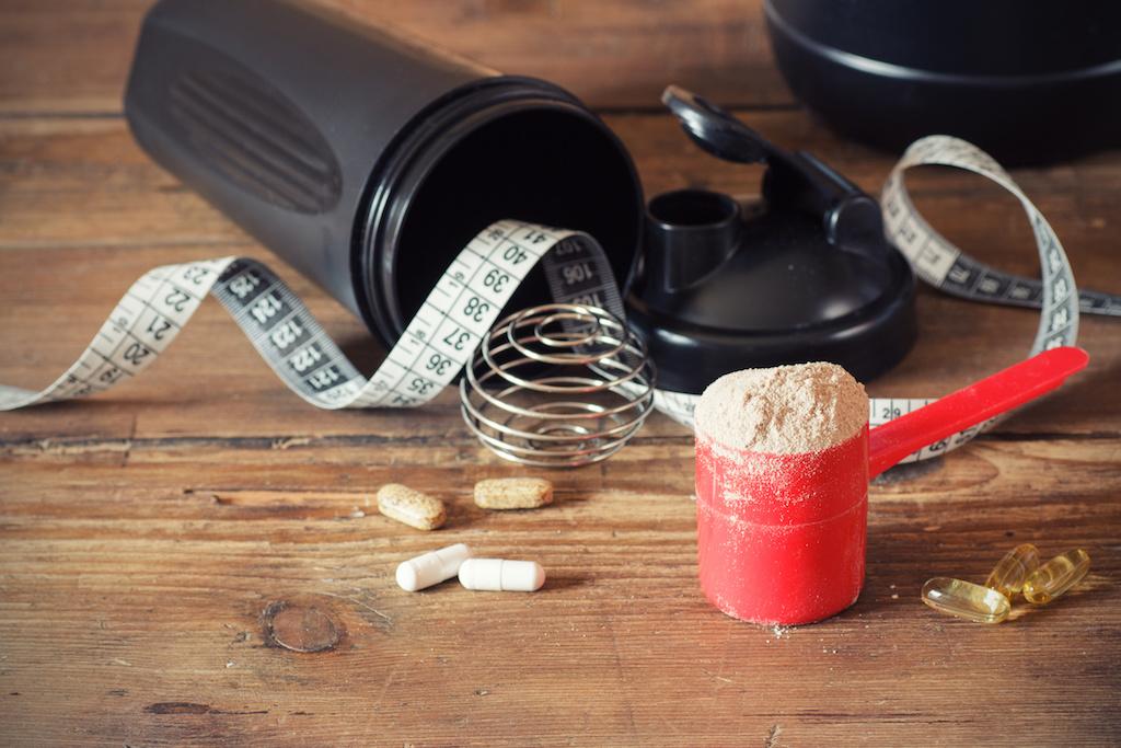 筋肉の材料「タンパク質」を補うのに役立つプロテイン